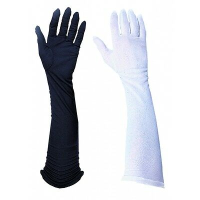 """Poly 21"""" Long Gloves Costume Accessory Adult"""