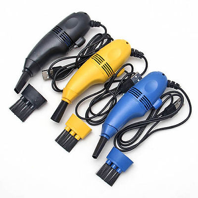 Hot New Mini USB Vacuum Keyboard Cleaner Dust Collector LAPTOP Computer Sales