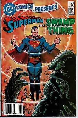 DC Comics Presents! Issue 85! Superman and Swamp Thing!