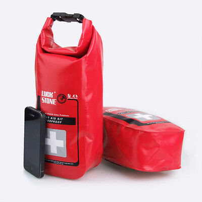 Waterproof Emergency First Aid Kit Bag Travel Dry Bag Rafting Camping Kayaking