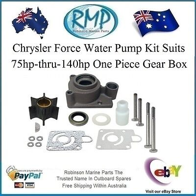 A Brand New Chrysler Force Outboard Water Pump Kit 75hp-thru-140hp # FK1069