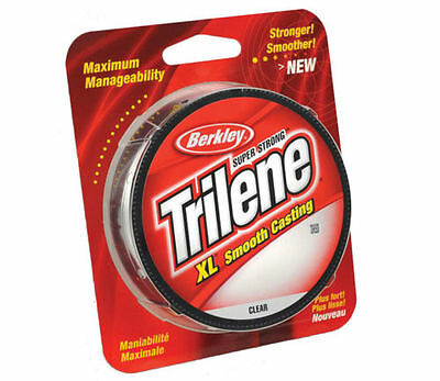 Berkley Trilene XL Clear 300yd Spools - 8 sizes available