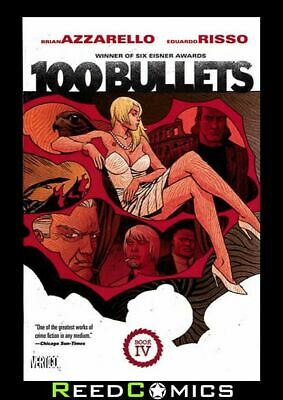 100 BULLETS BOOK 4 GRAPHIC NOVEL New Paperback Collects Issues #59-80