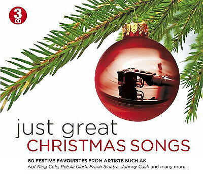 Various Artists : Happy Christmas Everybody: 75 Great Christmas Songs CD Box