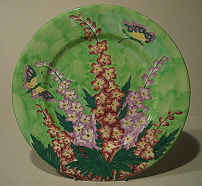 Maling Embossed Delphinium plate - 1940's