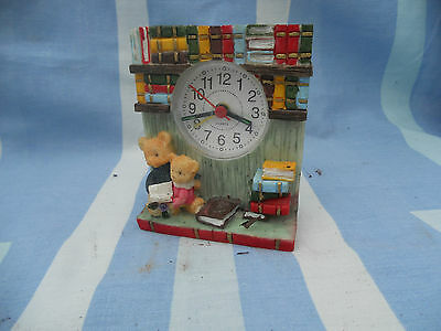 STUNNING Shabby Chic Style KITCHEN 10cm CLOCK Quartz WORKING
