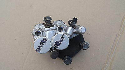sinnis shuttle 125 front brake caliper with pads vgc only 734 miles