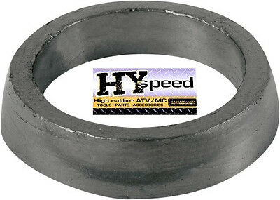 HYspeed Exhaust Pipe to Muffler Silencer Gasket Connector Graphite Seal 17-0013A