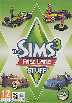 The Sims 3 Fast Lane Stuff PC/MAC Brand New Factory Sealed Fast Shipping.