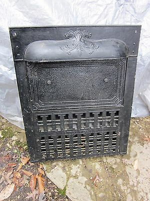 The Dawson brand antique Victorian gas fireplace insert