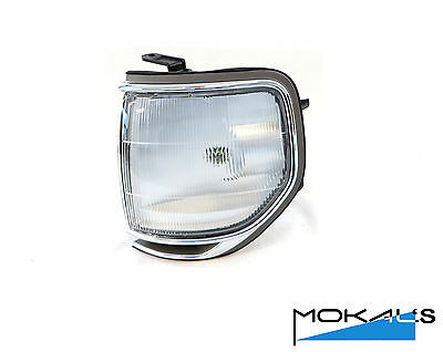 toyota landcruiser 80 series corner park light 1989-1998 Left side (chrome rim)