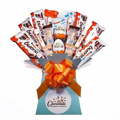 Kinder Chocolate Bouquet - Sweet Hamper Tree Explosion - Perfect Gift
