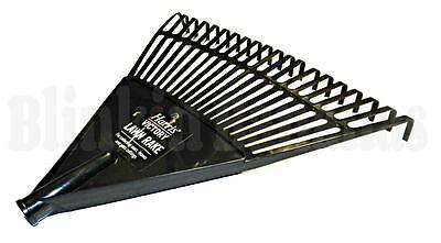 Replacement Plastic Lawn Fan Rake Flexible Head Collecting Leaves Grass Cuttings
