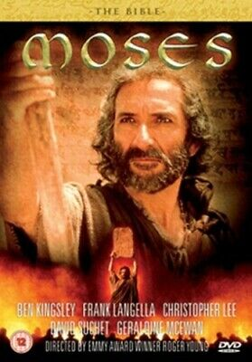 The Bible: Moses DVD (2010) Ben Kingsley