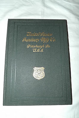 1925 United States Sanitary Mfg. Co. Pittsburgh, Pa  Plumbing Fixtures Catalog • CAD $107.51