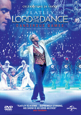 Michael Flatley's Lord of the Dance: Dangerous Games DVD (2014) Gerard Fahy