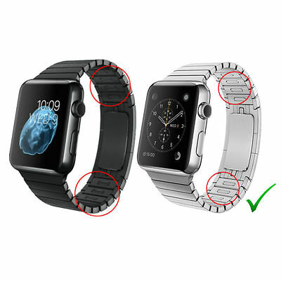 316L Stainless Steel Strap Band Bracelet link Bracelet for APPLE WATCH 38/42mm