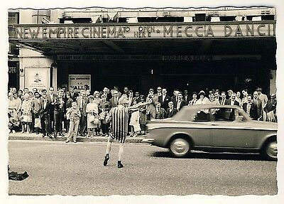 England LONDON New Empire Cinema Leicester Sq Mecca Dancing * Vintage 60s Photo