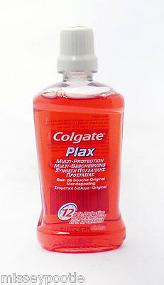 Colgate Plax Multi Protection Mouth Wash Travel Mini Size 60ml (Pack of 3)