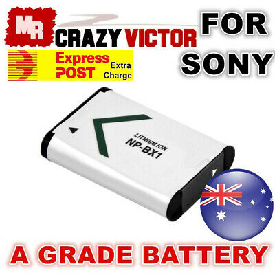 NP-BX1 Battery for Sony HDR-PJ410 HDR-CX405 FDRX3000 Camcorder