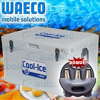 41L Litre Ice-Box Waeco Cool-Ice Cooler Icebox Wci-42 Car Boat Fishing + Bonus