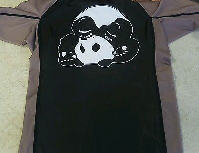 Inverted Gear Panda rash guard muscle shirt. Hot!! Compression!