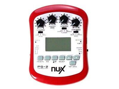 NuX PG2 Portable Guitar Effects Unit - New