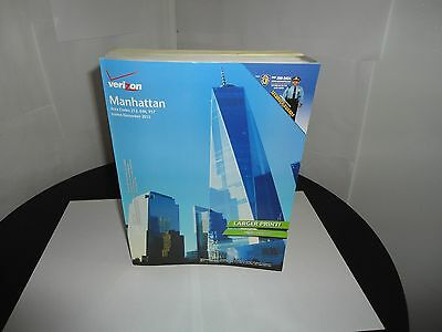 2016-2017 Verizon Phone Book - Manhattan (NY) Business White & Classifed Pages