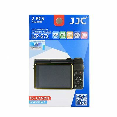 JJC LCP-G7X Camera LCD Screen Protector Film Cover for Canon PowerShot G7X Mark2