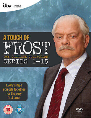 A Touch of Frost: The Complete Series 1-15 DVD (2011) David Jason ***NEW***