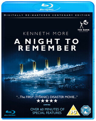 A Night to Remember Blu-Ray (2012) Kenneth More ***NEW***
