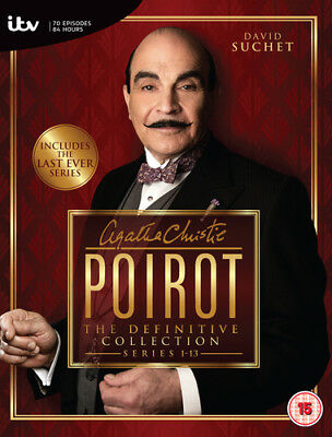 Agatha Christie's Poirot: The Definitive Collection - Series 1-13 DVD (2013)