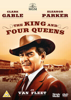 The King and Four Queens DVD (2015) Clark Gable ***NEW***