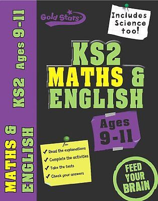 Gold Stars: Workbook Bind Up KS2 Age 9-11 Maths & English By Gold Stars