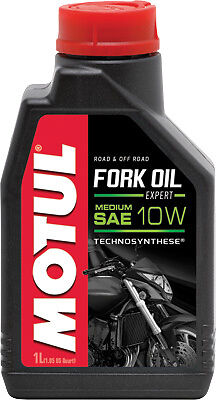 MOTUL FORK OIL 1 LITER MEDIUM 10W  100% Synthetic 105930