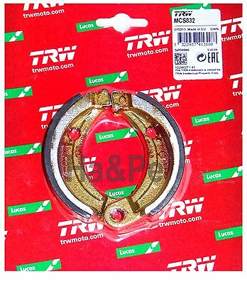Bombardier DS 50 90 2002-06 TRW-Lucas Bremsbacken brake shoes vorne Feder MCS832