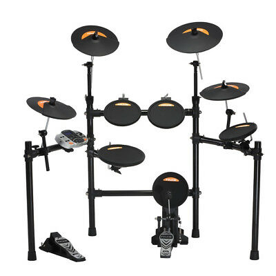 NuX DM4 Electric 9 Piece Electronic Drum Kit - New