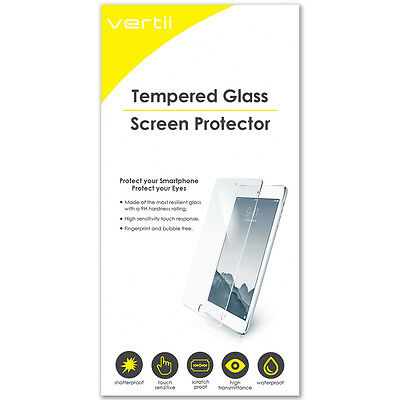 Vertii Tempered Glass Screen Protective Shield For Samsung Galaxy S6 Edge+