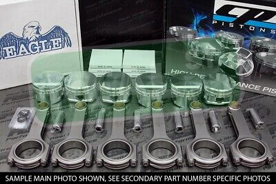 CP Pistons Eagle Rods Supra 7MGTE 8.4:1 83mm