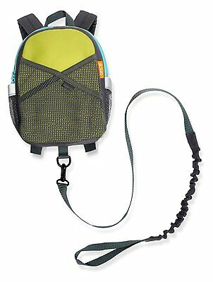 Brica By-My-Side Safety Harness Backpack, Green/Blue (60010) by Brica NEW