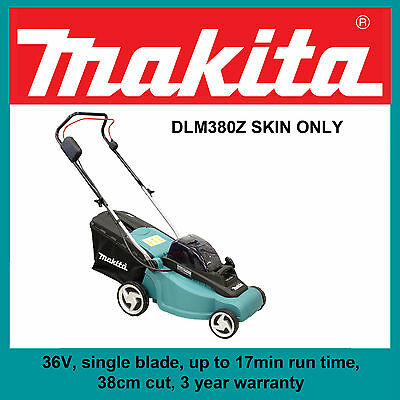 Makita DLM380Z 36V Lithium-Ion Lawn Mower - Skin Only!