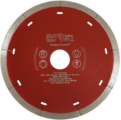 Porcelain Tile Saw Diamond Disc Blade 110mm For Plasplugs, MWTC550 & Wickes Saws