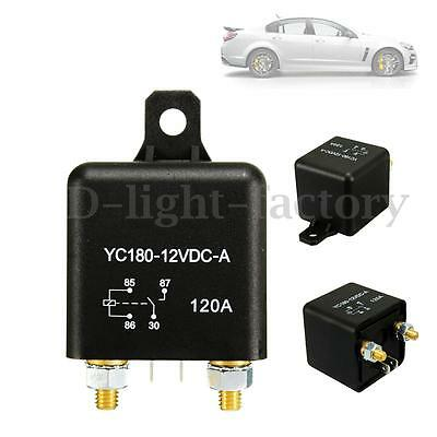 12V 120A 4 Pin Car Auto Van Split Charge ON/OFF Relay Switch 4 Terminals 120Amp