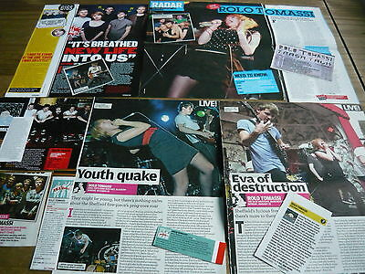 Rolo Tomassi - Magazine Cuttings Collection (Ref Bc)