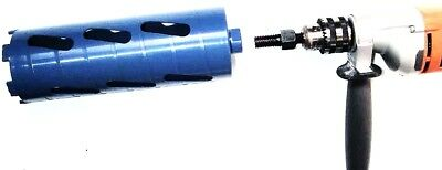 """4PK Dry Core Bit Adapter Convert 5/8""""-11 Arbor to 1/2"""" Shank for Electric Drill"""