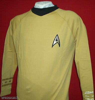 Uniform STAR TREK Classic Kirk - Replica  NEU ovp S