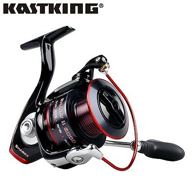 KastKing Sharky II Waterproof Spinning Fishing Reel 10+1 BBs Free UK Shipping