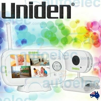"Uniden Bw3101 4.3"" Digital Baby Video Audio Wireless Monitor Night Vision"