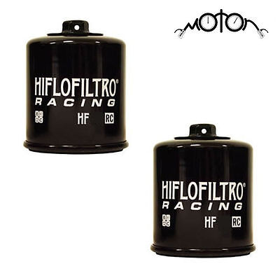2 x  Hiflo RACING Oil Filter HF138 RC for Suzuki SV650/s ALL MODELS 1999-2012