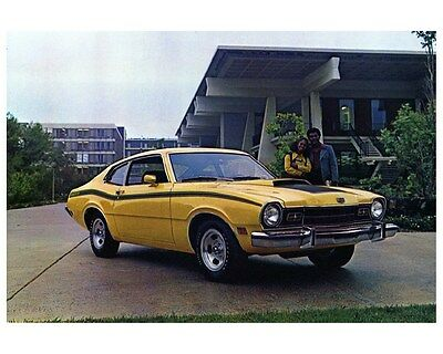 1973 Mercury Comet Factory Photo ca4153